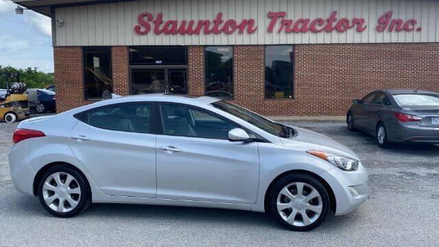 2012 Hyundai Elantra for sale at STAUNTON TRACTOR INC in Staunton VA