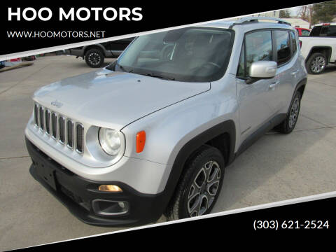 2015 Jeep Renegade for sale at HOO MOTORS in Kiowa CO