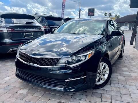 2017 Kia Optima for sale at Unique Motors of Tampa in Tampa FL