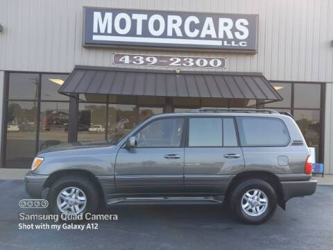 2002 Lexus LX 470 for sale at MotorCars LLC in Wellford SC
