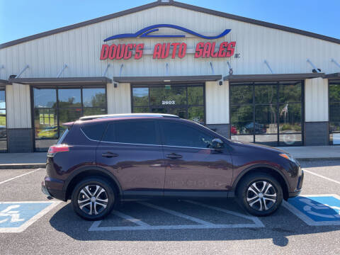 2016 Toyota RAV4 for sale at DOUG'S AUTO SALES INC in Pleasant View TN