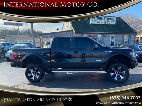 2013 Ford F-150 for sale at International Motor Co. in St. Charles MO