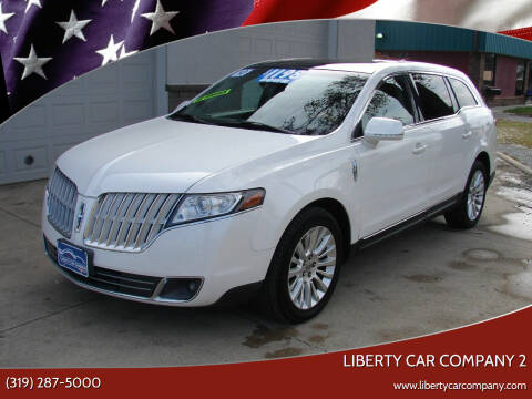 2010 Lincoln MKT for sale at Liberty Car Company - II in Waterloo IA
