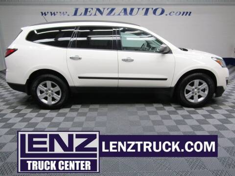 2015 Chevrolet Traverse for sale at LENZ TRUCK CENTER in Fond Du Lac WI