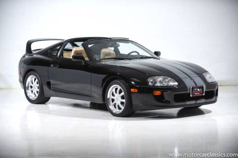1995 Toyota Supra for sale at Motorcar Classics in Farmingdale NY
