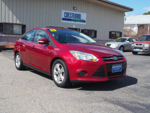 2013 Ford Focus for sale at Crestwood Auto Sales in Swansea MA