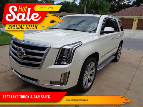 2015 Cadillac Escalade for sale at EAST LAKE TRUCK & CAR SALES in Holiday FL