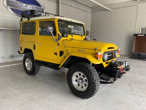 1978 Toyota Land Cruiser for sale at TANQUE VERDE MOTORS in Tucson AZ