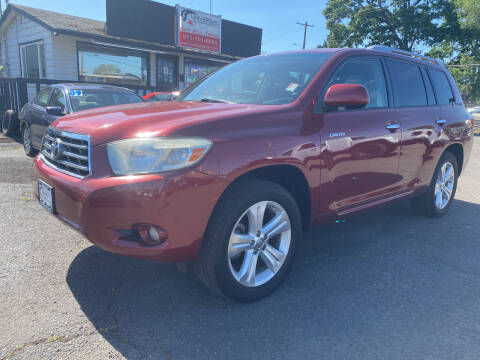 2008 Toyota Highlander for sale at Universal Auto Inc in Salem OR