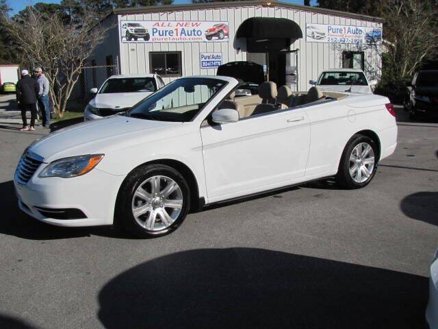 2011 Chrysler 200 Convertible for sale at Pure 1 Auto in New Bern NC