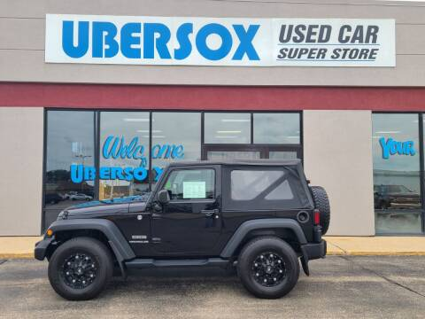 2014 Jeep Wrangler for sale at Ubersox Used Car Superstore in Monroe WI
