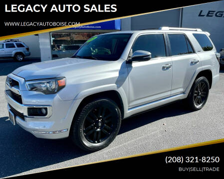 2014 Toyota 4Runner for sale at LEGACY AUTO SALES in Boise ID