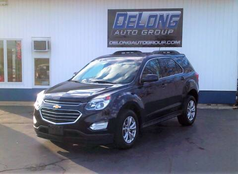 2016 Chevrolet Equinox for sale at DeLong Auto Group in Tipton IN