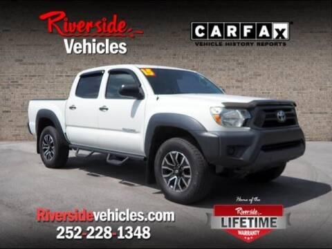 2015 Toyota Tacoma for sale at Riverside Mitsubishi(New Bern Auto Mart) in New Bern NC
