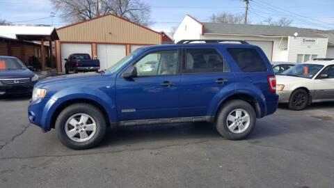 2008 Ford Escape for sale at BRAMBILA MOTORS in Pocatello ID