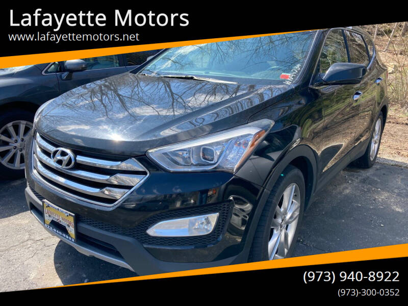 2013 Hyundai Santa Fe Sport for sale at Lafayette Motors in Lafayette NJ