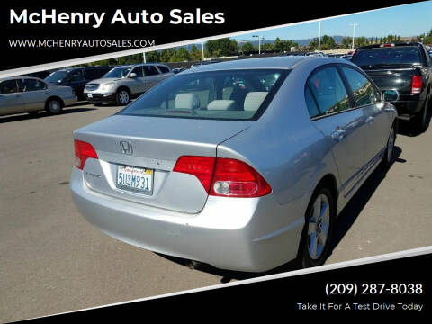2006 Honda Civic for sale at McHenry Auto Sales in Modesto CA