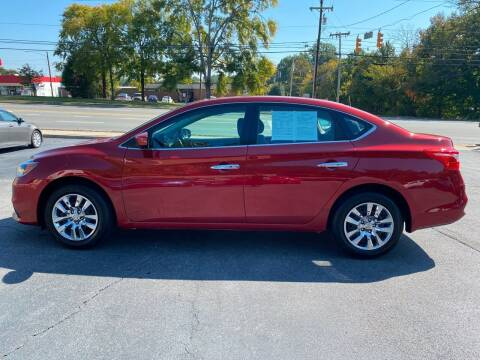 2017 Nissan Sentra for sale at Simple Auto Solutions LLC in Greensboro NC