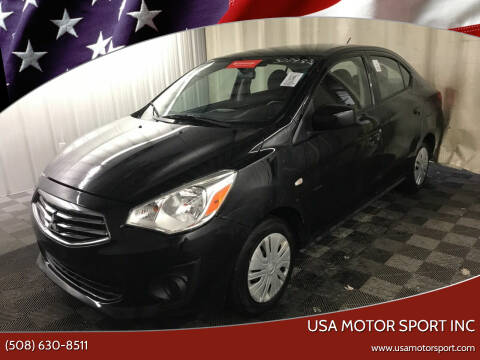 2019 Mitsubishi Mirage G4 for sale at USA Motor Sport inc in Marlborough MA