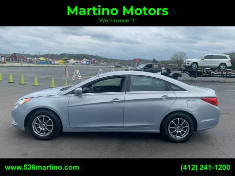 2011 Hyundai Sonata for sale at Martino Motors in Pittsburgh PA