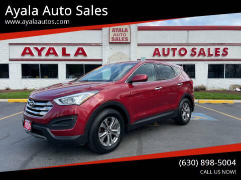 2016 Hyundai Santa Fe Sport for sale at Ayala Auto Sales in Aurora IL