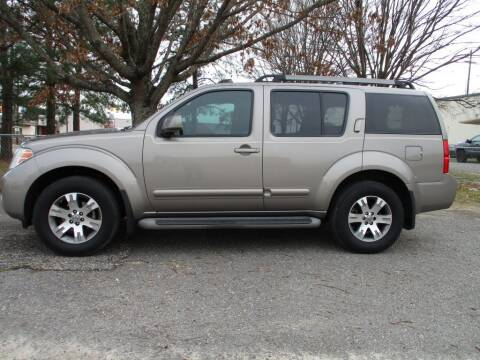 2009 Nissan Pathfinder for sale at A & P Automotive in Montgomery AL