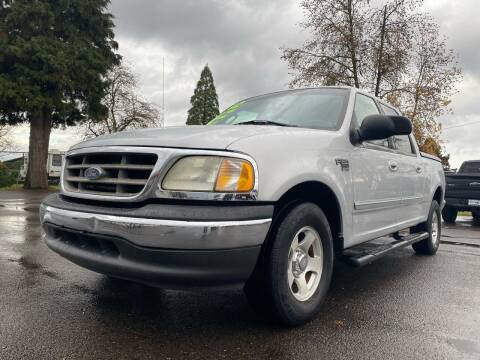 2002 Ford F-150 for sale at Pacific Auto LLC in Woodburn OR