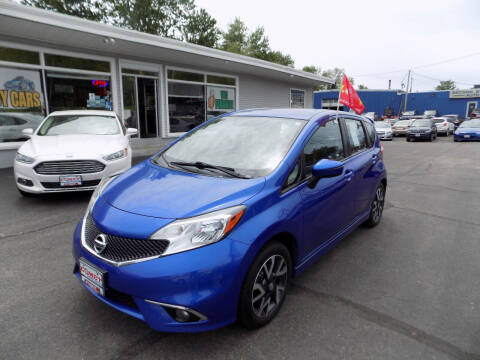 2015 Nissan Versa Note for sale at Comet Auto Sales in Manchester NH