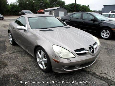 2005 Mercedes-Benz SLK for sale at Gary Simmons Lease - Sales in Mckenzie TN