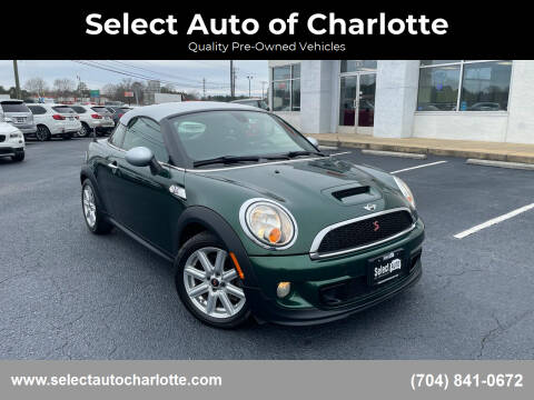 2012 MINI Cooper Coupe for sale at Select Auto of Charlotte in Matthews NC