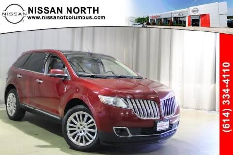 2013 Lincoln MKX for sale at Auto Center of Columbus in Columbus OH