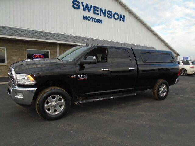 2015 RAM Ram Pickup 2500 for sale at SWENSON MOTORS in Gaylord MN