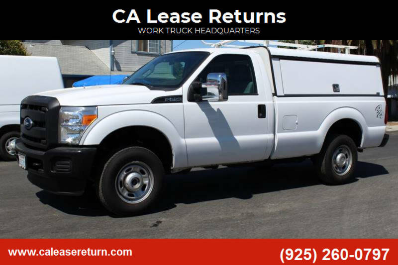 2016 Ford F-250 Super Duty for sale at CA Lease Returns in Livermore CA