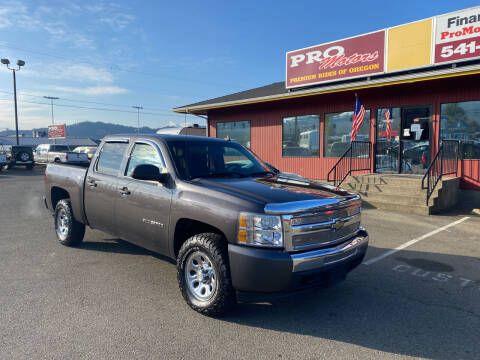 2010 Chevrolet Silverado 1500 for sale at Pro Motors in Roseburg OR