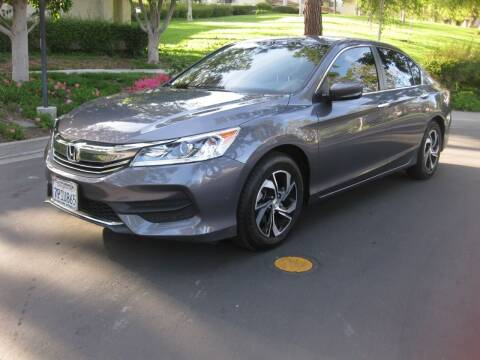 2016 Honda Accord for sale at E MOTORCARS in Fullerton CA
