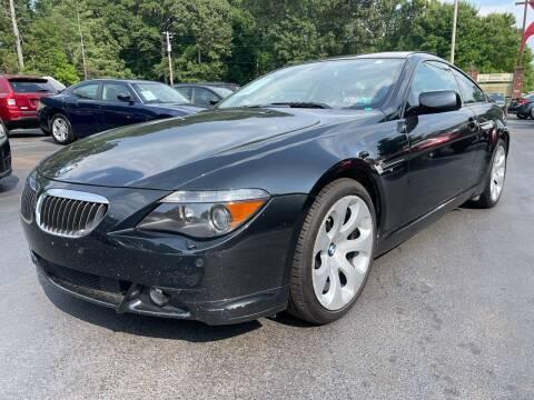 2007 BMW 6 Series for sale at GEORGIA AUTO DEALER, LLC in Buford GA