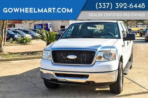 2007 Ford F-150 for sale at GoWheelMart in Leesville LA