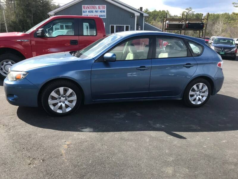2009 Subaru Impreza for sale at Mascoma Auto INC in Canaan NH