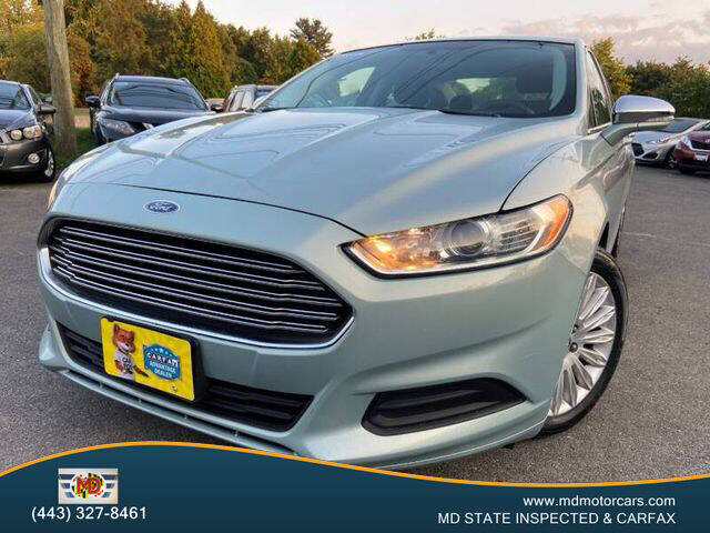 2013 Ford Fusion Hybrid for sale in Aberdeen, MD