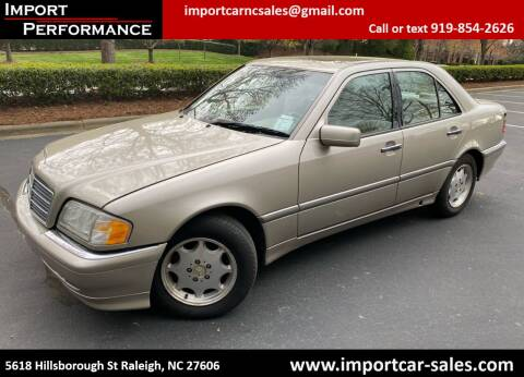 1999 Mercedes-Benz C-Class for sale at Import Performance Sales in Raleigh NC