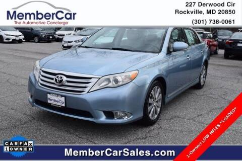 2011 Toyota Avalon for sale at MemberCar in Rockville MD