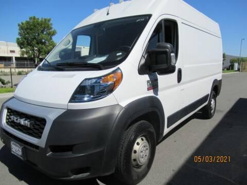 2020 RAM ProMaster Cargo for sale at California Auto Enterprises in San Jose CA