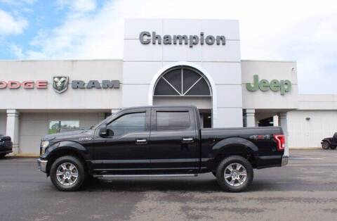 2016 Ford F-150 for sale at Champion Chevrolet in Athens AL