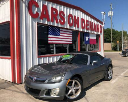 2007 Saturn SKY for sale at Cars On Demand 3 in Pasadena TX