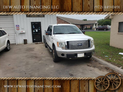 2011 Ford F-150 for sale at DFW AUTO FINANCING LLC in Dallas TX