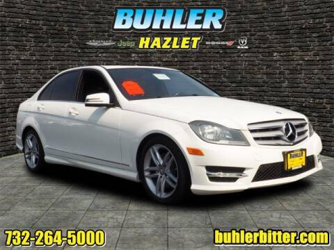 2013 Mercedes-Benz C-Class for sale at Buhler and Bitter Chrysler Jeep in Hazlet NJ