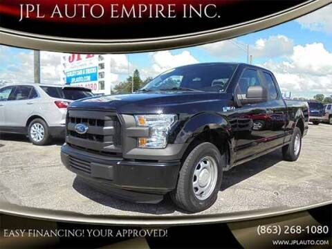 2016 Ford F-150 for sale at JPL AUTO EMPIRE INC. in Auburndale FL