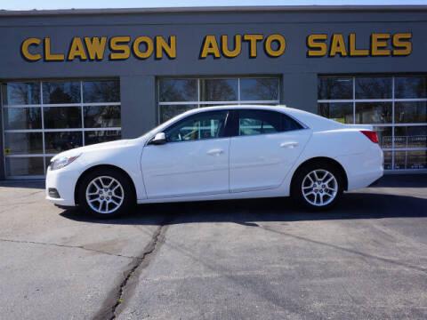2015 Chevrolet Malibu for sale at Clawson Auto Sales in Clawson MI