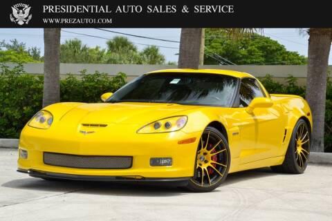 2008 Chevrolet Corvette for sale at Presidential Auto  Sales & Service in Delray Beach FL