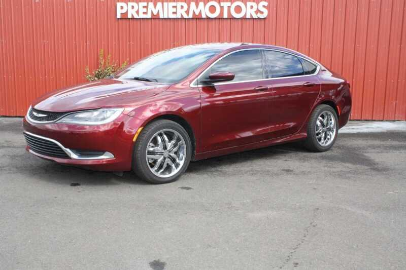 2015 Chrysler 200 for sale at PREMIERMOTORS  INC. in Milton Freewater OR